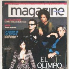 Revistas de música: REVISTA MAGAZINE LA VANGUARDIA 08/07/2001 EL OLYMPO DEL ROCK FOTOS DE ANNIE LEIBOVITZ CASTRO PRIETO. Lote 45019784