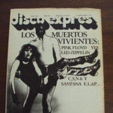 Revistas de música: DISCO EXPRES Nº 443 PINK FLOYD LED ZEPPELIN ELLIOTT MURPHY KIM FOWLEY. Lote 45025082
