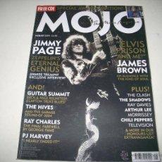 Revistas de música: MOJO 129 AGO 2004 JIMMY PAGE LED ZEPPELIN JAMES BROWN THE HIVES RAY CHARLES PJ HARVEY SHADOWS . Lote 45127375