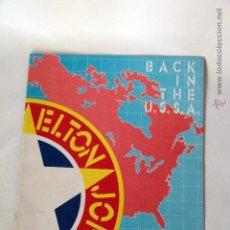 Revistas de música: ELTON JOHN - LIBRO DE GIRA - TOUR PROGRAMME - 1979. Lote 45252248
