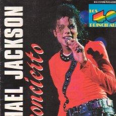 Revistas de música: MICHAEL JACKSON EN CONCIERTO 1988, MANTIENE POSTER CENTRAL. Lote 45291970