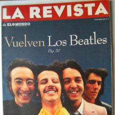 Revistas de música: LA REVISTA-VUELVEN LOS BEATLES-JODI FOSTER-ASTRONOMIA LA PALMA Y TENERIFE-STAR TREK, PASIÓN ESTELAR-. Lote 45344829