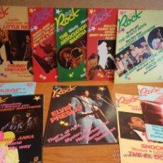 Revistas de música: LAS GRANDES ESTRELLAS DEL ROCK. 10 FASCÍCULOS NUEVOS. LEER DESCRIPCIÓN Y VER FOTOS.. Lote 45376386