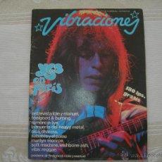 Magazines de musique: VIBRACIONES ENERO 78 // YES EN PARIS // NO CONTIENE EL POSTER. Lote 45575510
