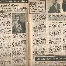 Revistas de música: ANTONIO MOLINA ARTÍCULO-REVISTA 1958. Lote 45609929