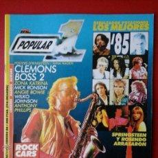 Revistas de música: REVISTA POPULAR 1 FEBRERO 1986. SUPERTRAMP, SPRINSTEEN, ROSENDO ...... Lote 46001481