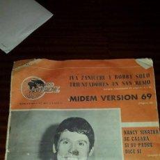 Revistas de música: MUNDO MUSICAL Nº 8 (AÑO 1969) - RAPHAEL. Lote 46038117