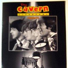 Revistas de música: THE CAVERN LIVERPOOL, INGLATERRA-INTERNATIONAL BEATLE WEEK-FOLLETO 8 PAGINAS, 15X21 CM. Lote 46305595