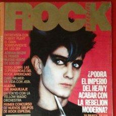 Revistas de música: REVISTA ROCK ESPEZIAL OCTUBRE 1982 HEAVY-TECNO. Lote 46314583