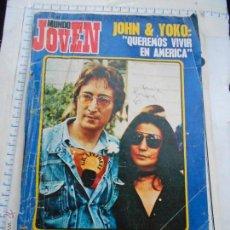 Magazines de musique: MUSICA REVISTA: MUNDO JOVEN 189 JOHN LENNON & YOKO BEATLES RAPHAEL T. REX DE 1974. Lote 122529739