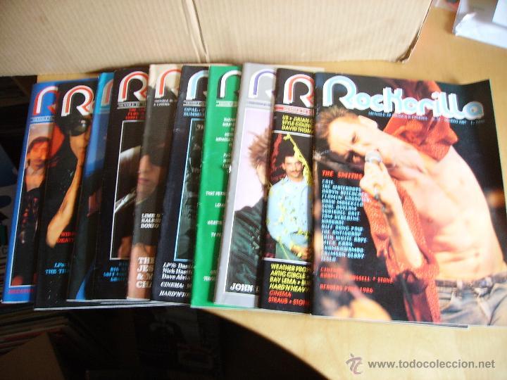 ROCKERILLA ---- LOTE 10 REVISTAS (Música - Revistas, Manuales y Cursos)