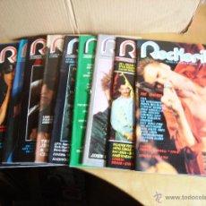 Revistas de música: ROCKERILLA ---- LOTE 10 REVISTAS. Lote 46461727