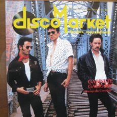 Revistas de música: DISCO MARKET, REVISTA ESPECIALIZADA. GABINETE CALIGARI. DISCOGRAFIA COMPLETA. 1988.. Lote 46523612