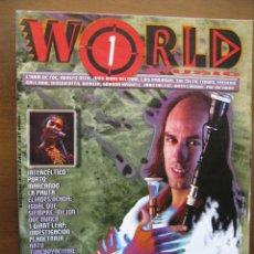 Revistas de música: WORLD 1 MUSIC. CARLOS NUÑEZ. MARIZA. ELIADES OCHOA. 1 GIANT LEAP. SECRET GARDEN. ETC.. Lote 46563740