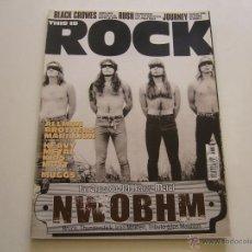 Revistas de música: REVISTA THIS IS ROCK Nº 58 IRON MAIDEN. BLACK CROWES. RUSH. JOURNEY. MARILLION. Lote 46606455