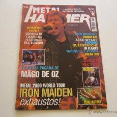 Revistas de música: REVISTA METAL HAMMER Nº 154 IRON MAIDEN. MAGO DE OZ. MOTORHEAD. GAMMA RAY. EMPEROR. IN FLAMES. Lote 46606686