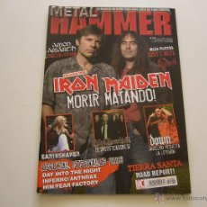 Revistas de música: REVISTA METAL HAMMER Nº 226 IRON MAIDEN. DOWN. AMON AMARTH. INFERNO. FEAR FACTORY. Lote 46606988