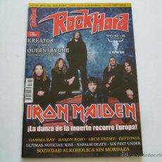 Revistas de música: REVISTA ROCK HARD Nº 32 IRON MAIDEN. KREATOR. GAMMA RAY. BARON ROJO. KISS. Lote 46608177