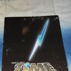 Revistas de música: LIBRO / PROGRAMA, TIME, DAVE CLARCK'S THE MUSICAL. 1986. ORIGINAL.. Lote 46727791