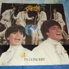 Revistas de música: THE OSMONDS IN CONCERT- TOUR PROGRAM- PROGRAMA DE GIRA-1977. Lote 46727860