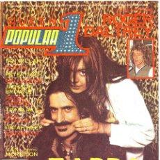 Revistas de música: POPULAR 1 Nº 70 ABRIL 1979 - ZAPPA -VAN MORRISON -IAN GILLAN -POSTER QUEEN. Lote 46782456