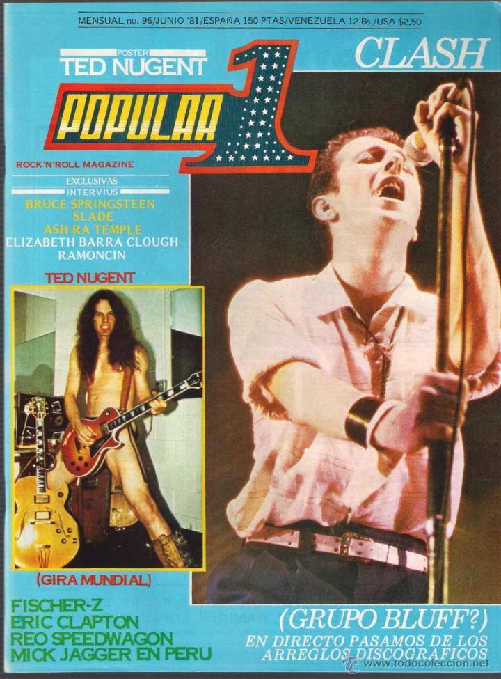 Revista Popular 1 Ano 1981 Completo 12 Numer Sold Through Direct Sale 46907905