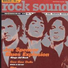 Revistas de música: ROCK SOUND 13 -REVISTA DE MUSICA. Lote 136387581