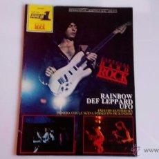 Revistas de música: REVISTA ROCK POPULAR 1 ESPECIAL HARD ROCK. Lote 47365242