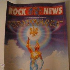 Revistas de música: ROCK NEWS Nº 33 REVISTA. Lote 47448587