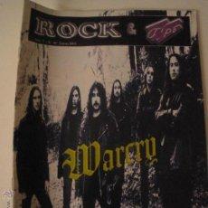 Revistas de música: ROCK & TIPO - REVISTA WARCRY HELLACOPTERS KAMELOT. Lote 47448653