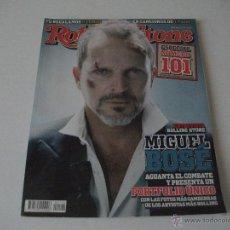 Revistas de música: ROLLING STONE, MARZO 2008, MIGUEL BOSE, FANGORIA, MARTA SANCHEZ, NANCYS RUBIAS, . Lote 47749951