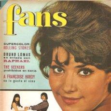 Revistas de música: REVISTA MUSICAL FANS N º 81 CONTIENE POSTER ROLLING STONES . Lote 51881097