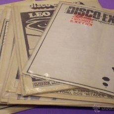 Revistas de música: DISCO EXPRES - LOTE DE 19 REVISTAS. Lote 48381322