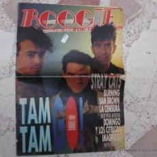 Revistas de música: BOOGIE Nº 15,MAYO-89,TAM TAM GO, STRAY CATS, BURNING,LA CENSURA, DOMINGO Y LOS CITRICOS. Lote 48398793