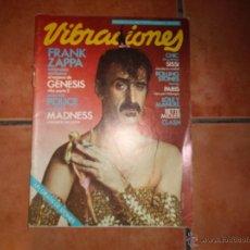 Revistas de música - vibraciones nº 68, frank zappa, genesis 2 parte, police, madness, clash, bette midler, lole y manuel - 48491653