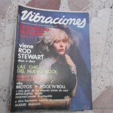 Revistas de música - vibraciones nº 65, falta poster, vibs motos yroc´n´roll, robert fripp, blondie, rod stewart, - 48508853