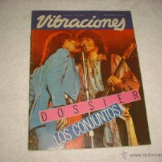 Revistas de música: VIBRACIONES Nº 84 . DOSSIER LOS CONJUNTOS . Lote 48704213