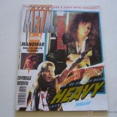 Revistas de música: REVISTA FULL METAL Nº 1 1990. Lote 48977305