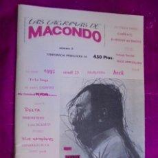 Revistas de música: FANZINE LAS LAGRIMAS DE MACONDO - Nº 3 - 1994 / NIÑO GUSANO / YO LA TENGO / SONIC YOUTH / POSIES. Lote 49032432