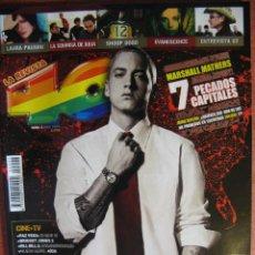 Revistas de música: LA REVISTA 40. Nº 2. EMINEN. U2. SILENCIO DE HEROES DEL SILENCIO. RESEÑA CONCIERTOS BUNBURY..... Lote 49045874
