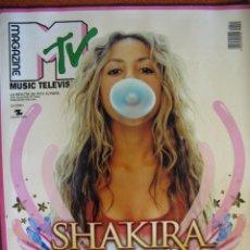 Revistas de música: MTV MAGAZINE. Nº 15. SHAKIRA, BUNBURY DE HEROES DEL SILENCIO, U2, FOO FIGHTERS, BILLY CORGAN, .... Lote 49046719