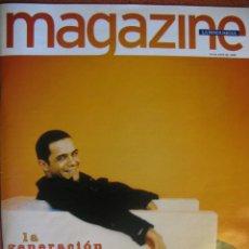 Revistas de música: MAGAZINE LA VANGUARDIA. ALEJANDRO SANZ (PORT + 2 PP). MÓNICA NARANJO, ANA TORROJA. 1998.. Lote 49099096