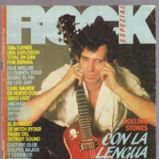 Revistas de música: REVISTA ROCK ESPEZIAL, Nº 28 - KETH RICHARDS (DIC. 1983) INCLUYE FASCÍCULO 12 ENCICLOPEDIA ROCK. Lote 49099169