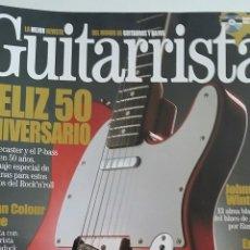 Revistas de música: LOTE DE 26 NÚMEROS DE LA REVISTA GUITARRISTA + 19 CD + 1 EJEMPLAR GUITARRA ACTUAL. Lote 49279695