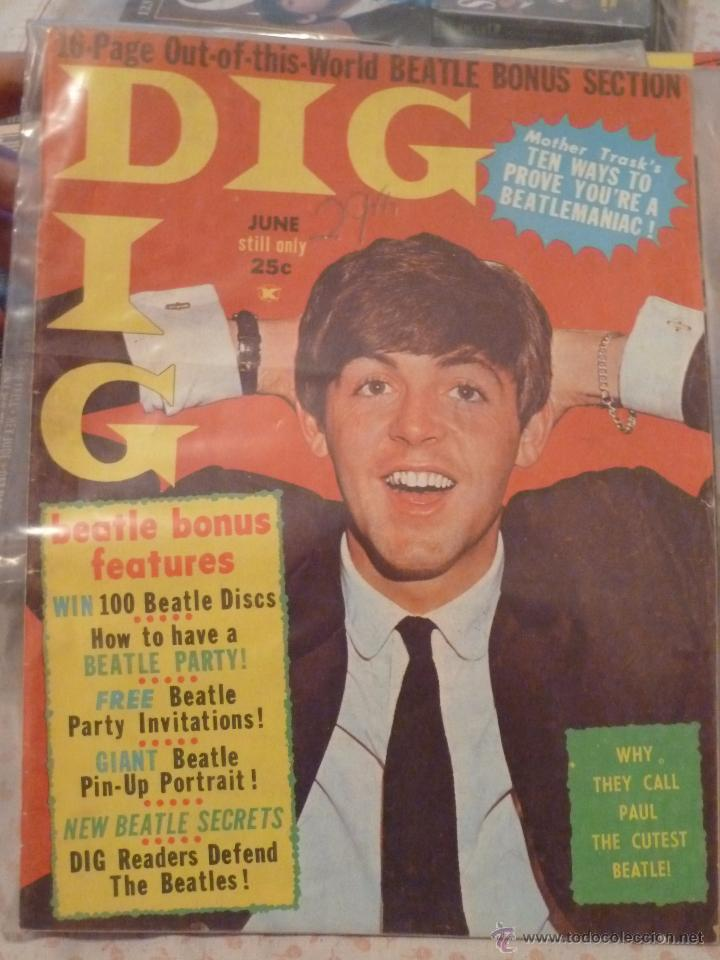 Beatles Revista Americana Dig 1964 Usa Eeuu Pau Sold At Auction 49469497