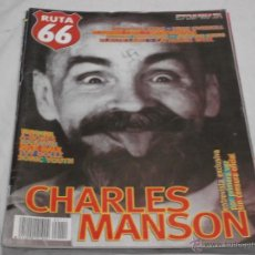 Revistas de música: RUTA 66 Nº 111. CHARLES MANSON. TINA GIL. SUPERSUCKERS. URGE OVERKILL. CATHERINE WEEL. PLASTICLAND.. Lote 104096683
