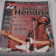 Revistas de música: RUTA 66 Nº 166. JIMI HENDRIX. LINK WRAY. JAY MASCIS. SONNY VINCENT. PETE TOWNSHEND. ORLANDO.. Lote 194679922