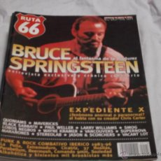 Revistas de música: RUTA 66 Nº 118. BRUCE SPRINGSTEEN. EXPEDIENT X. MAVERICKS. BLACK SABBATH. EXTREMODURO. STEREOLAB.. Lote 104096723