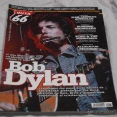 Revistas de música: RUTA 66 Nº 282. ROB DYLAN. SLIM CESSNA'S. SEX MUSEUM. WHITESNAKE. EMMYLOU HARRIS. CHARLES BRADLEY.. Lote 104096351