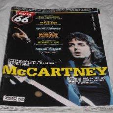 Revistas de música: RUTA 66 Nº 255. MCCARTNEY. HAL WILLNER. ELVIS PRESLEY. ALICE BAG. MARIANNE FAITHFULL. MUSIC MAKER.. Lote 104096426
